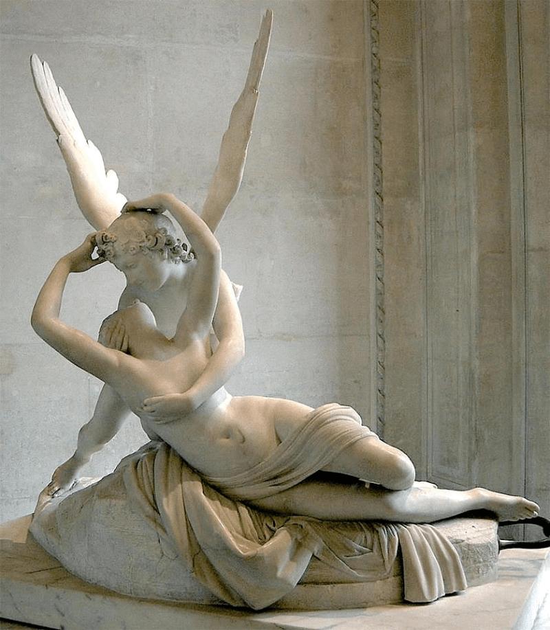 Eros y Psique, Antonio Canova, 1793