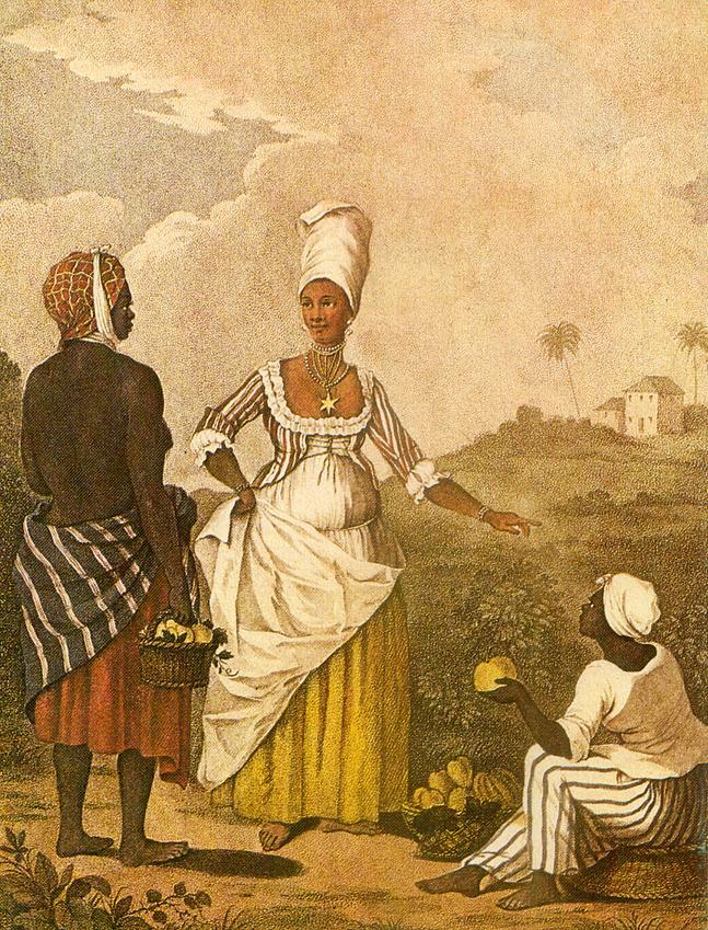 La chica mulata Barbados
