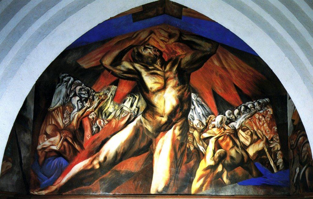 Prometeo, Clemente Orozco, 1930