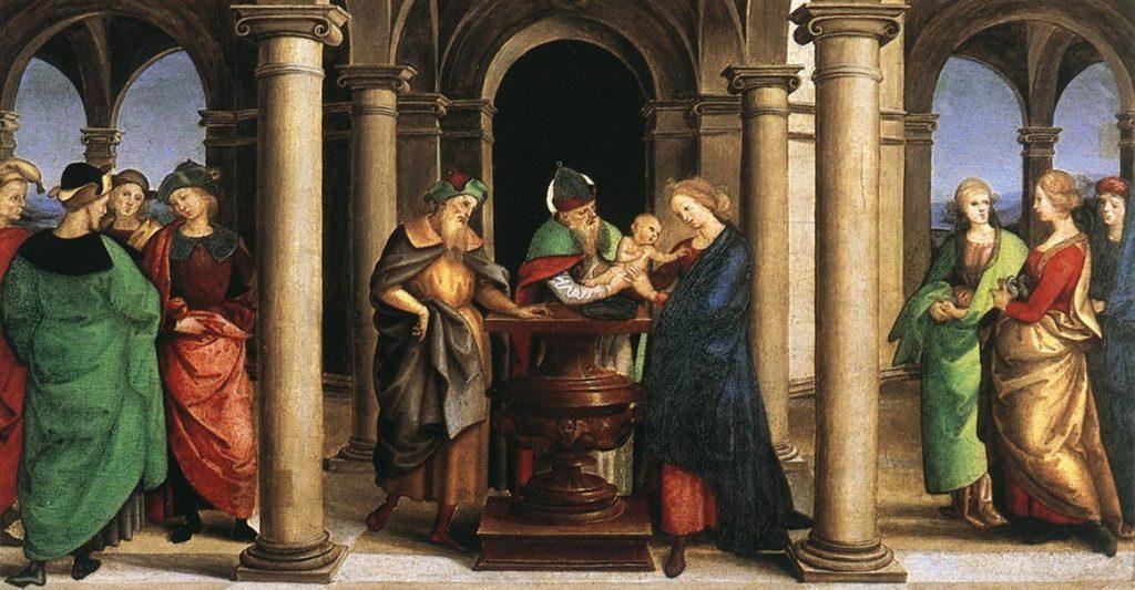 Rafael, Presentación en el Templo (1503)