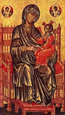 Virgen de Vladimir (s. XII), Constantinopla 1125